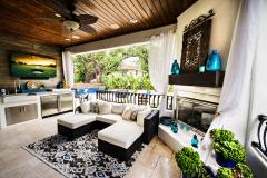 Bar.fireplace